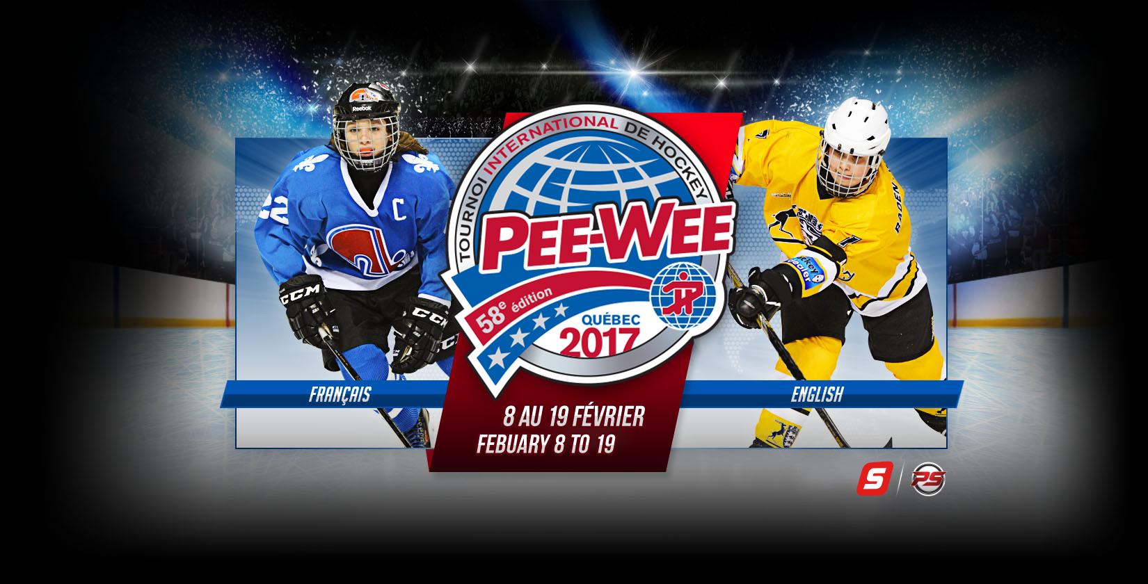 Page d'accueil Tournois International de Hockey Pee-Wee de Québec