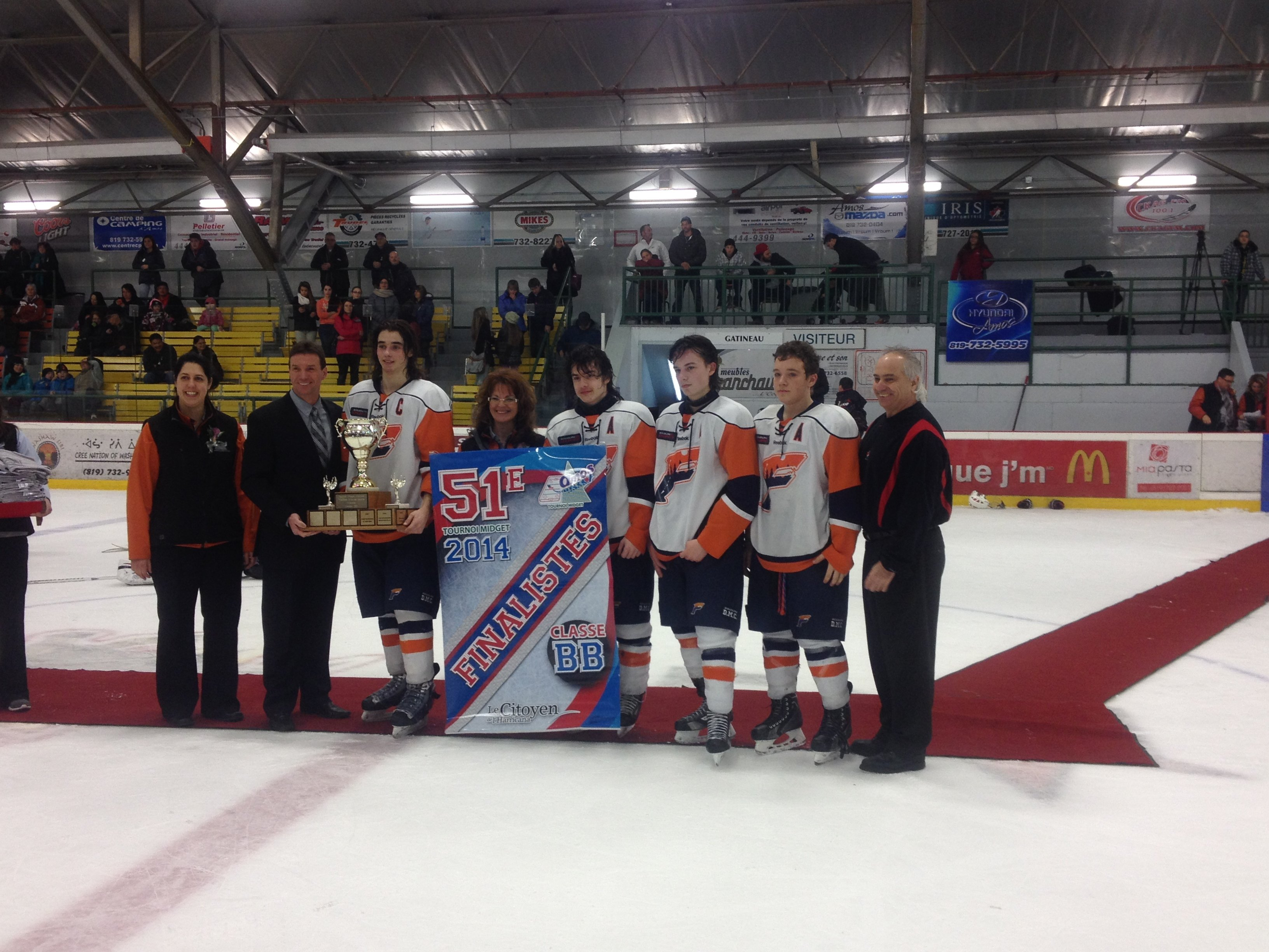 Hockey midget dolbeau tournoi