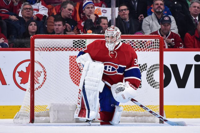 Carey Price aura 39 ans à la fin de son entente. (photo Getty)