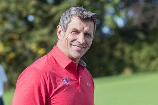 Le directeur général du Canadien, Marc Bergevin, est plus détendu par les temps qui courent. (NHL.com)