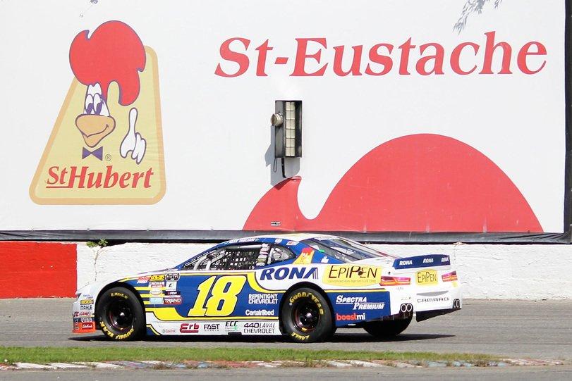 Images of Alex Tagliani's Chevrolet Camaro at Autodrome Saint-Eustache Photo credit: Ryan Dupont