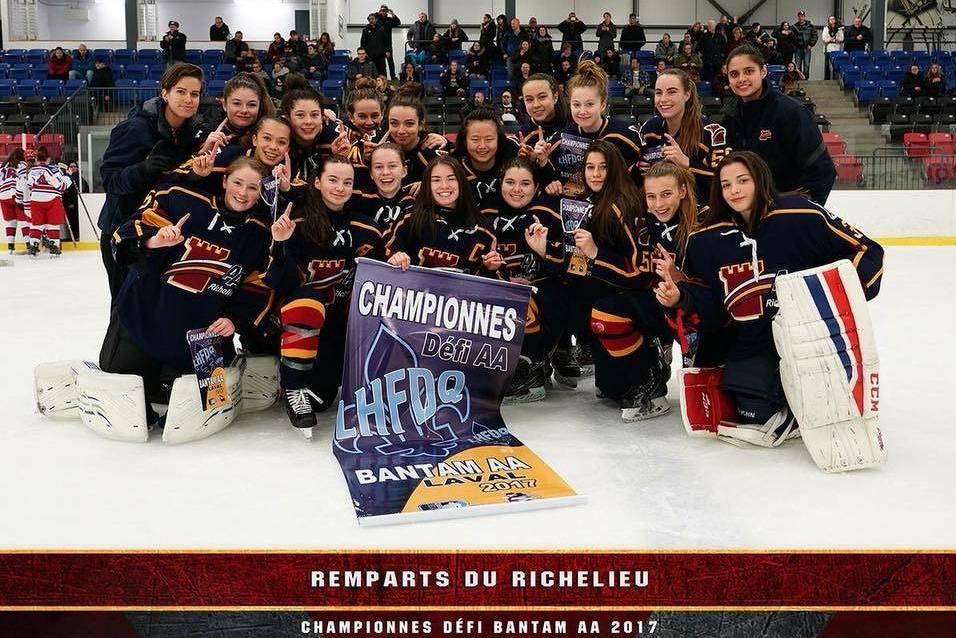 Équipe Bantam AA des Remparts du Richelieu