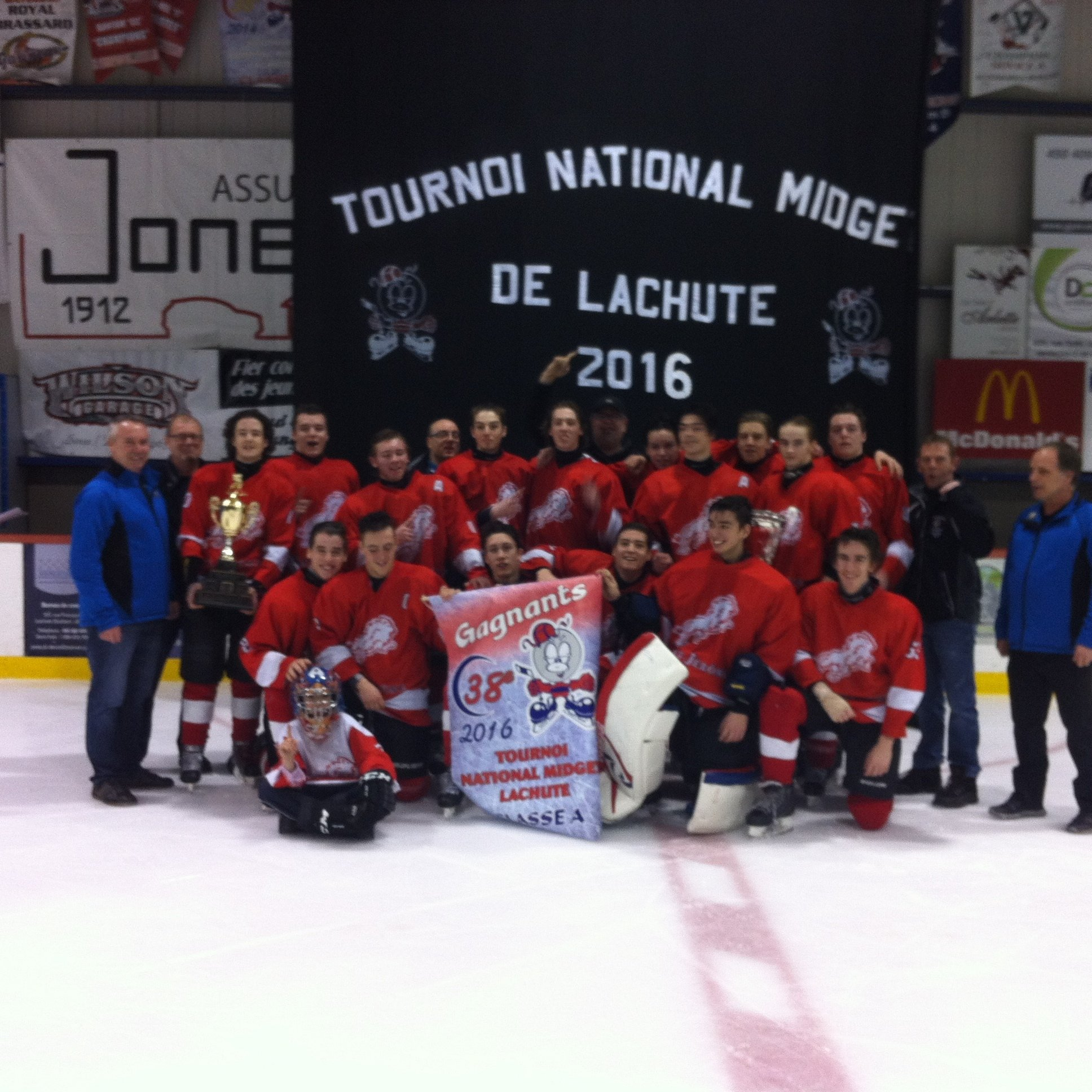 Tournoi midget de lachute Seldom.. possible