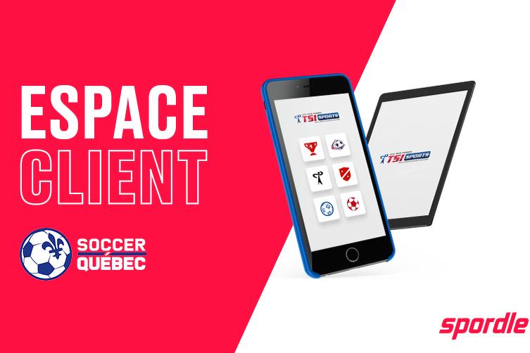 Votre espace client Soccer Québec est maintenant disponible