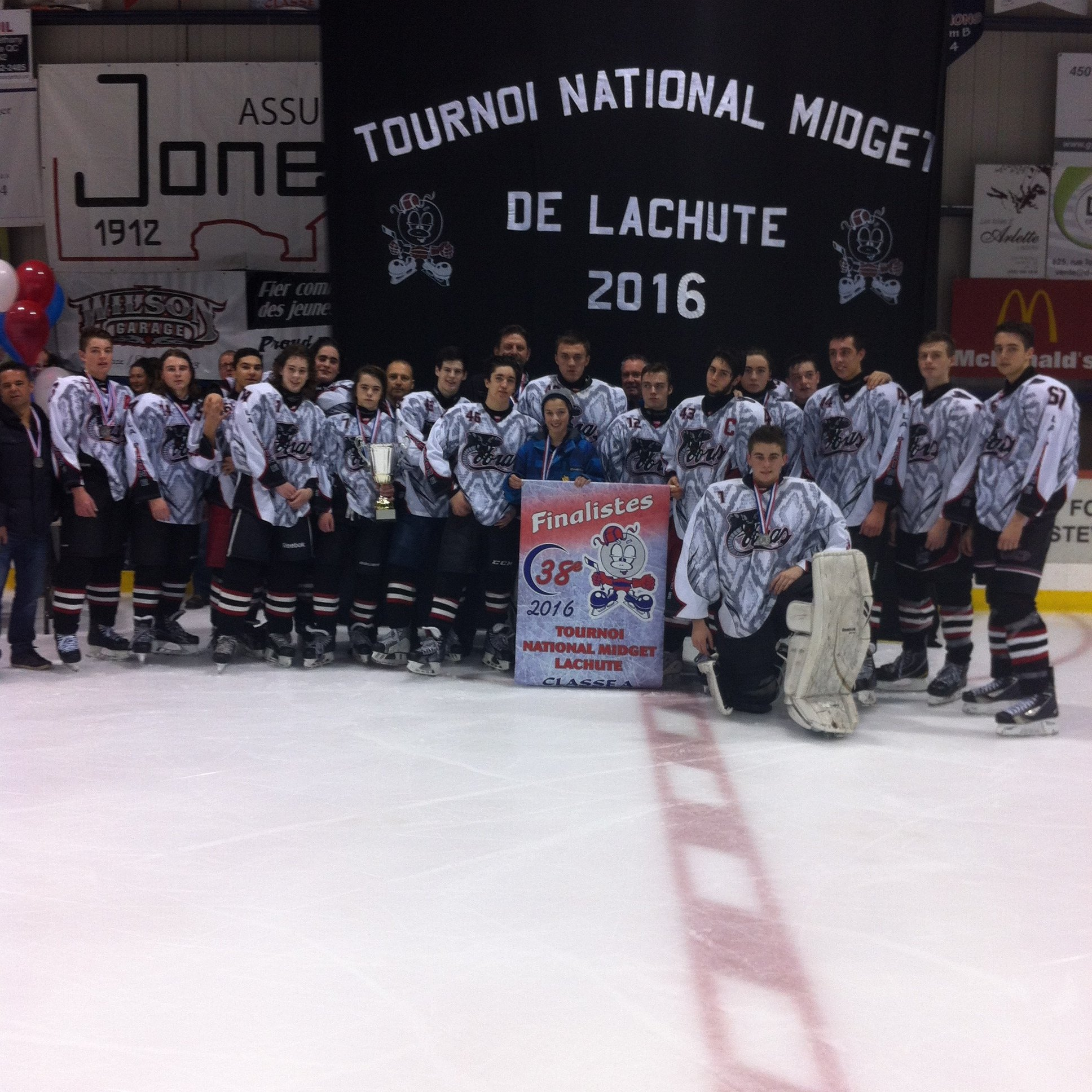 Tournoi midget de lachute would not