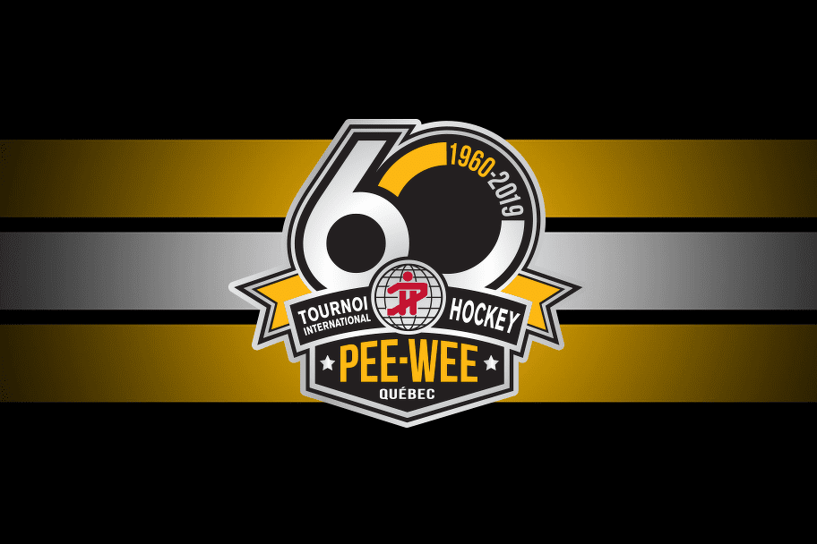 The New 60th Edition Logo Quebec International Pee Wee Hockey