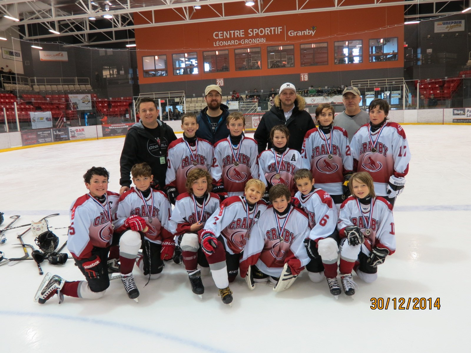 Rencontre hockey atome granby 2016