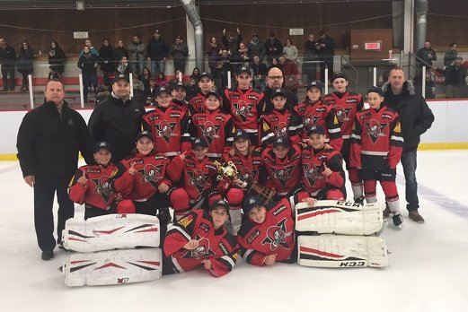 Mcgraw midget showcase tournoi de hockey sur glace