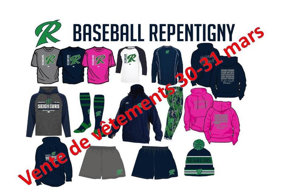 Vente De Vêtements Baseball Repentigny