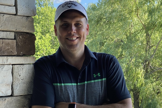 Jean-François Trudeau, 45 ans, golfeur depuis plus de 35 ans