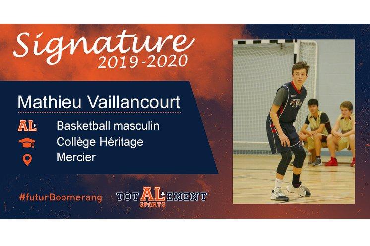 Mathieu Vaillancourt - Crédit photo - Courtoisie de l'athlète
