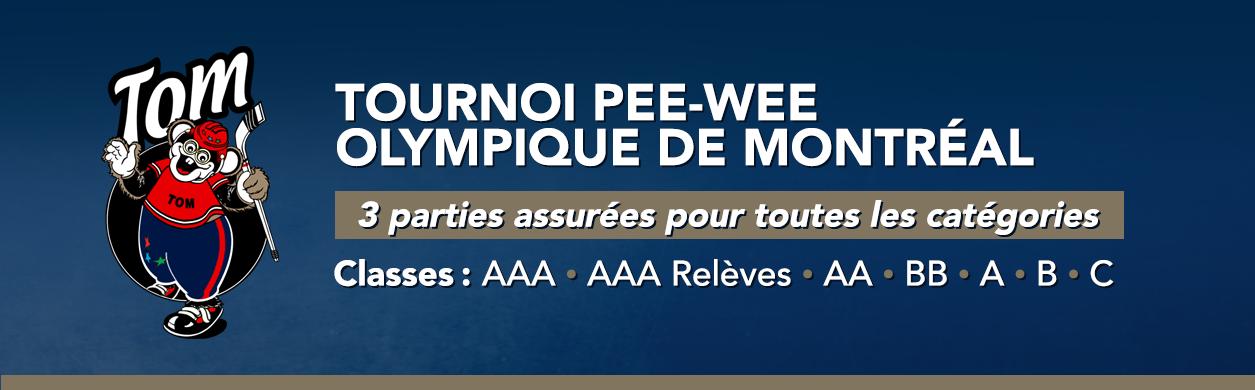 Tournoi PeeWee Olympique de Montréal
