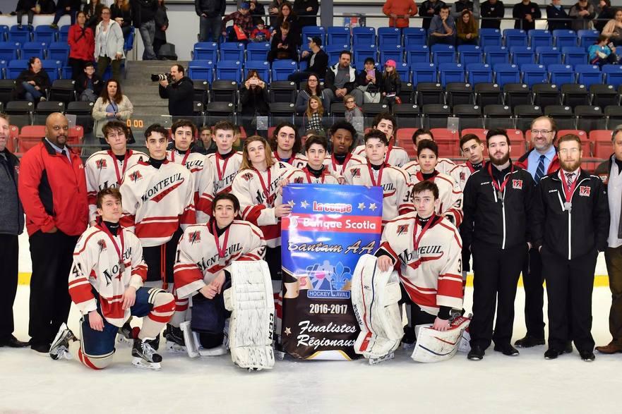Éclairs Bantam AA Finalistes Régionaux