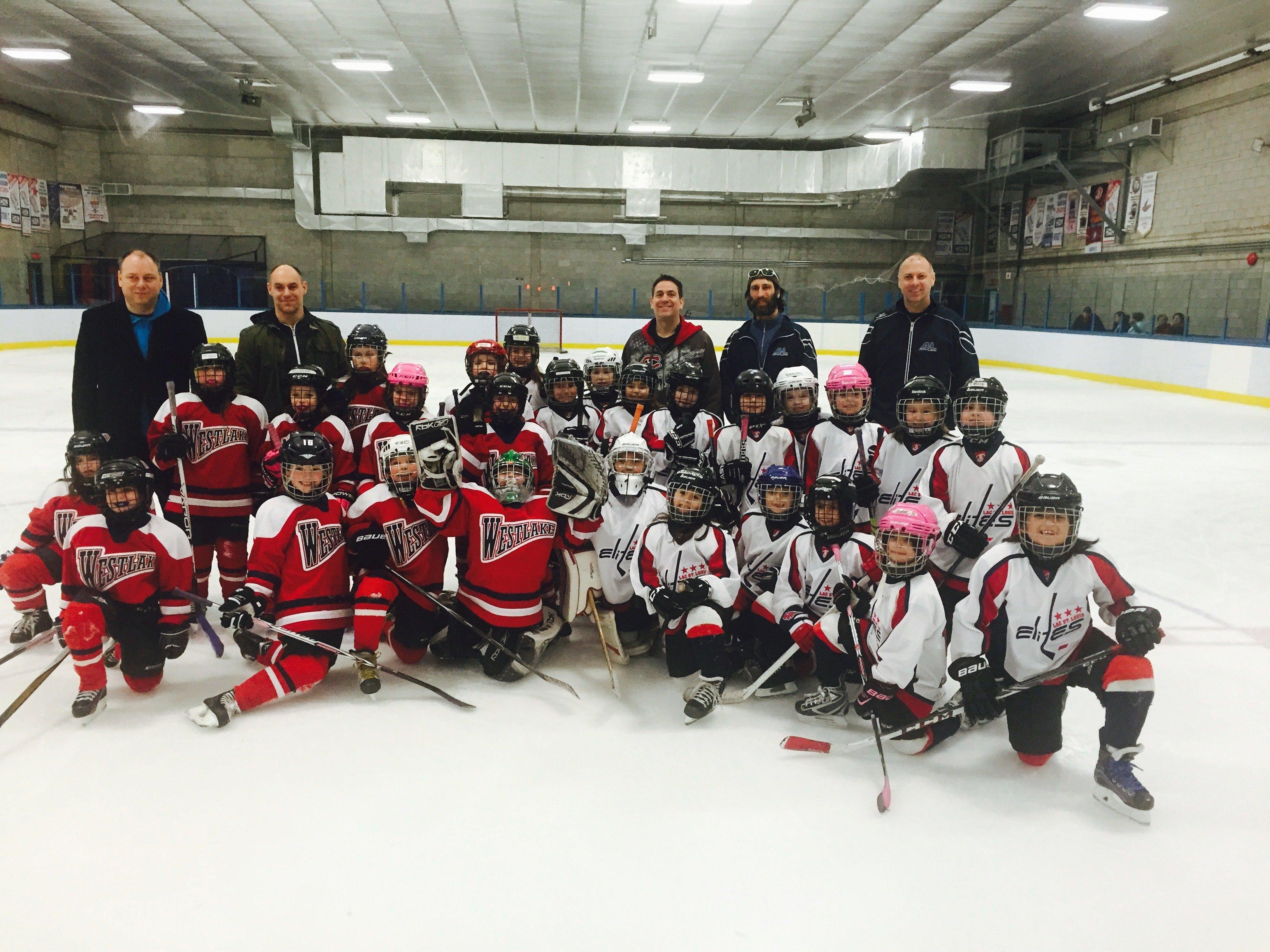 Elites hockey lac louis midget st