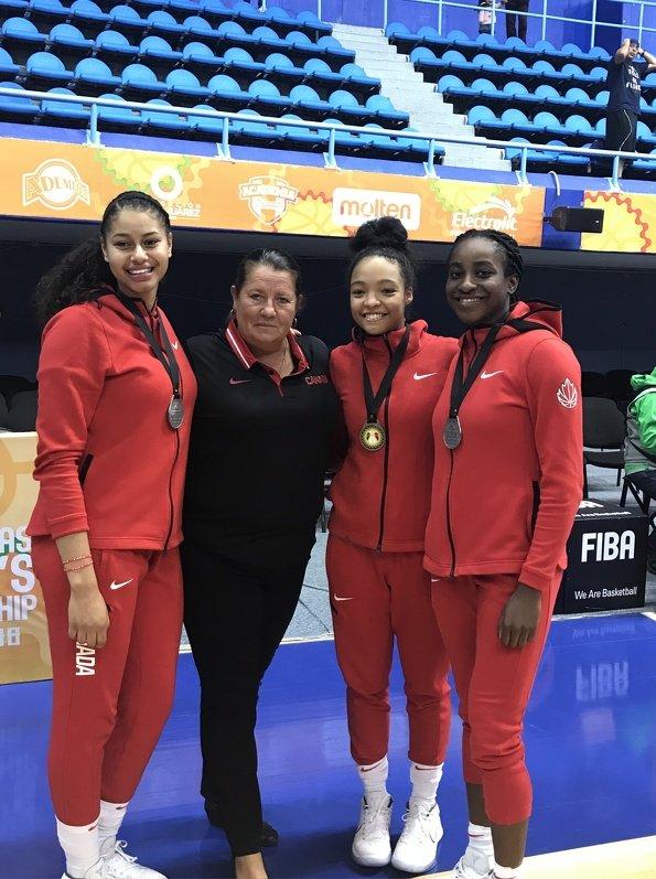 Kiandra Borwn, Mireille Beland, Kenya Cote-Lysius, Roxane Makolo