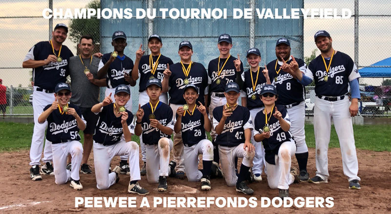Valleyfield tournament champions