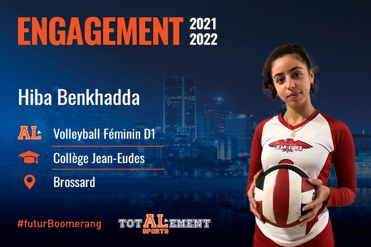 Hiba Benkhadda - Crédit photo - Courtoisie de l'athlète