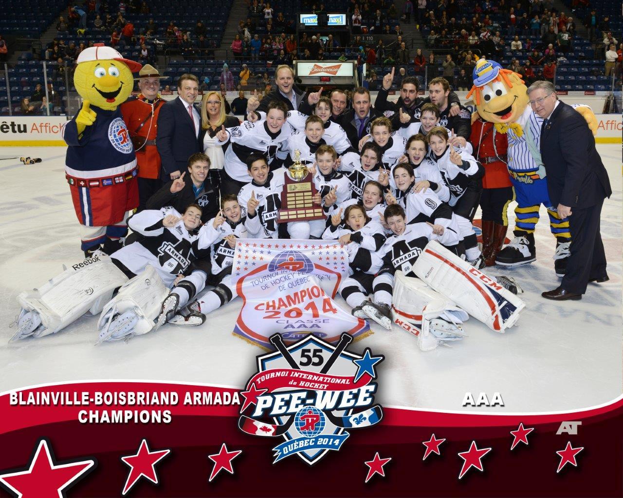 Photos Quebec International Pee Wee Hockey Tournament