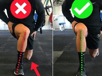 Bon alignement du genou