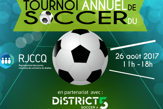 Tournoi de soccer 5vs5 au District