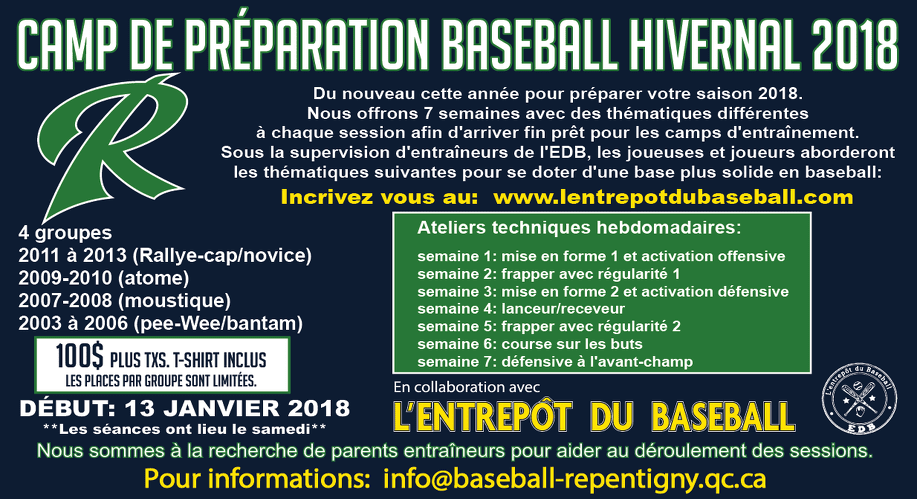 Camp hivernal 2018