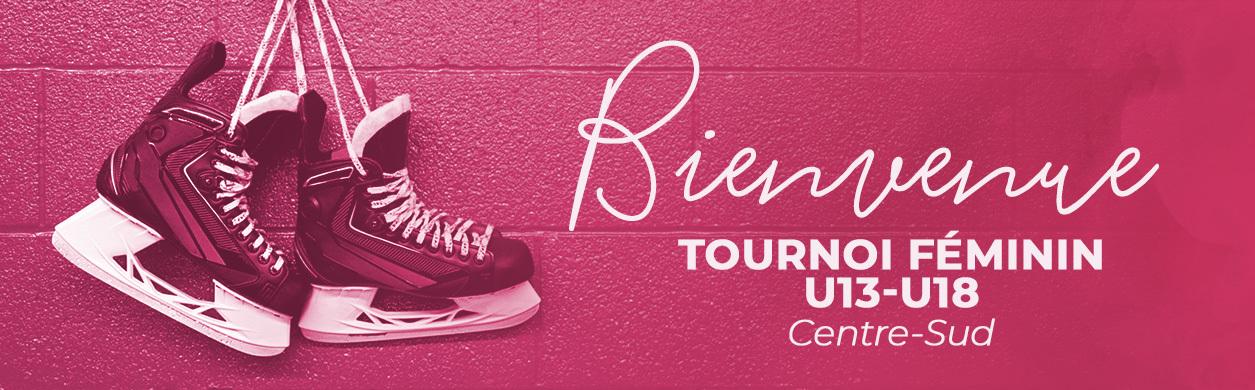 Bienvenue sur Tournoi Féminin U13-U18 Centre-Sud