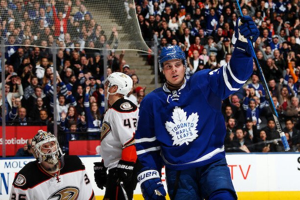 Auston Matthews devrait remporter le trophée Calder (photo Getty)