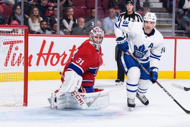 Les Maple Leafs et le Canadien ont offert un spectacle digne de la saison régulière, mercredi soir, au Centre Bell. (Getty)