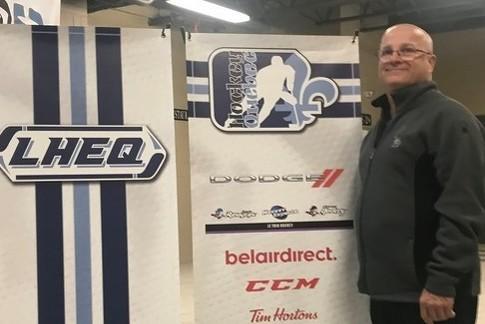 Jacques Corriveau, Directeur des opérations de la Ligue de Hockey d'excellence du Québec (LHEQ)