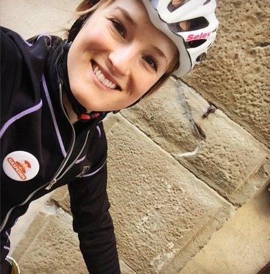 Lex Albrecht Cyclist professionnelle Gaspesienne