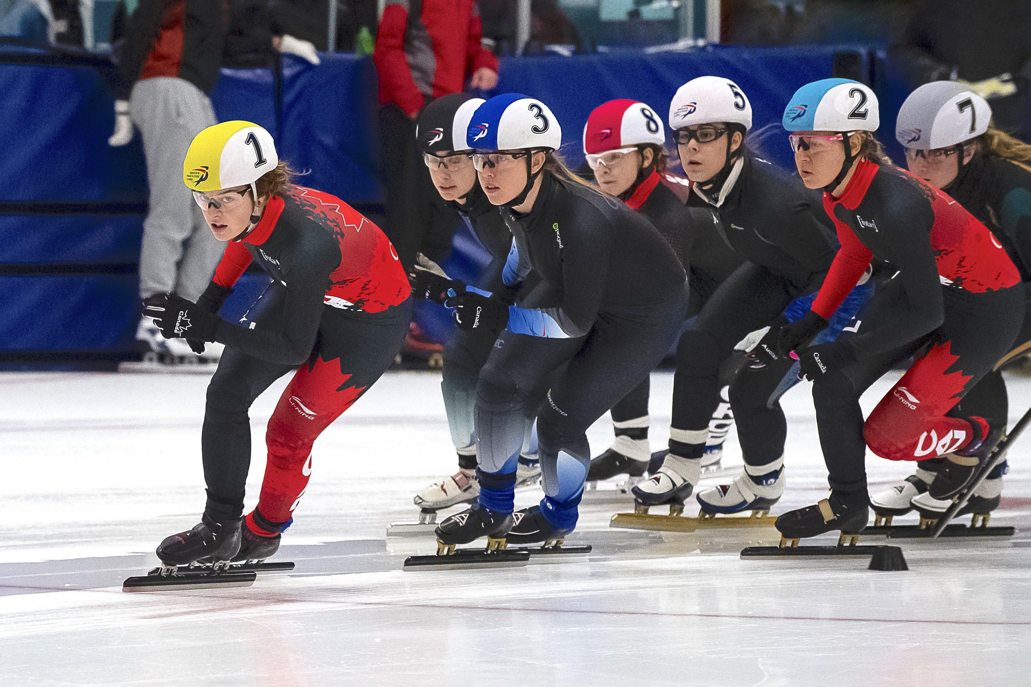 Alyson Charles sera l'une des patineuses présentes à la Place Bell, les 14 et 15 septembre, pour la première compétition de la saison. — Photo Claude Rochon