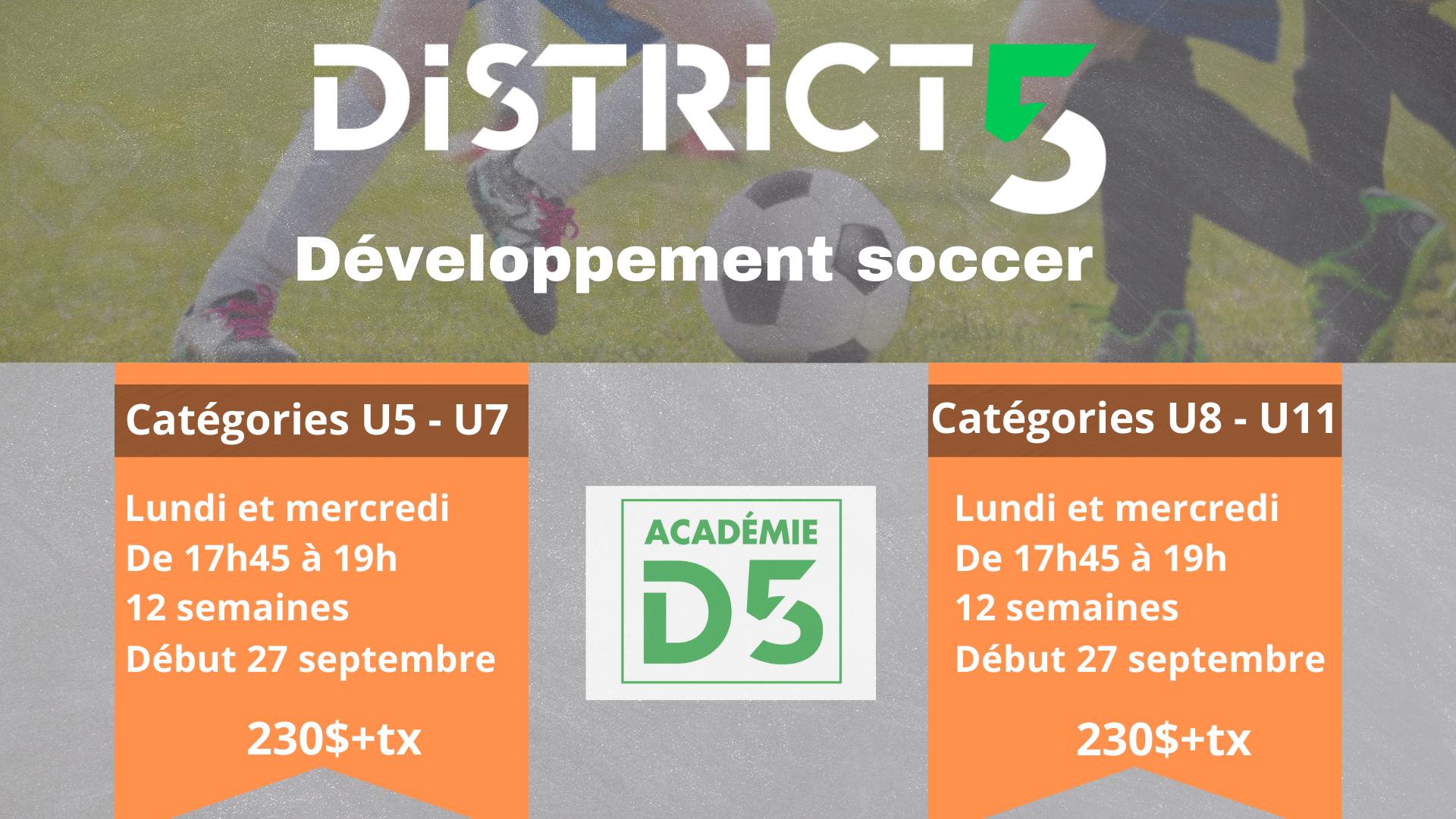Développement soccer