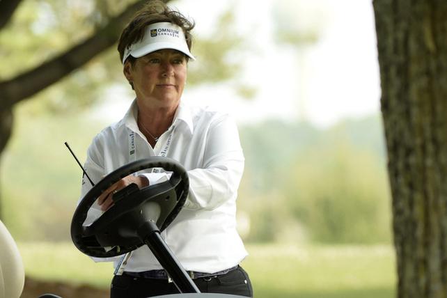 Le 9 ½ avec Mario | Diane Barabé joue au golf dans les Cantons plutôt que  d'être à l'Omnium des États-Unis | Au19e.ca