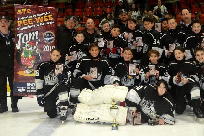 Peewee Bb Kings Were Finalists In The Tournoi Olympique De Montreal