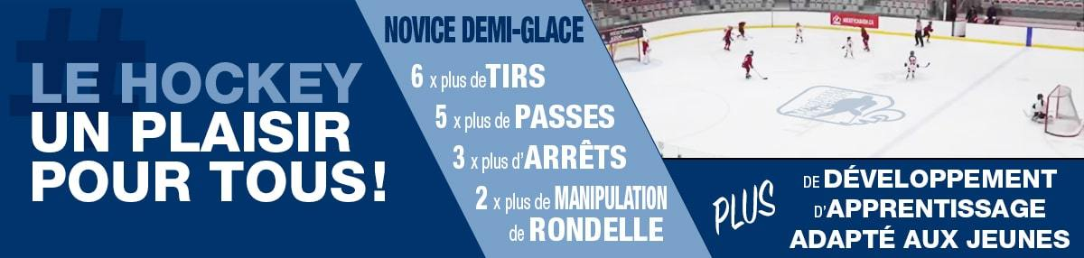 Hockey Novice Demi-Glace