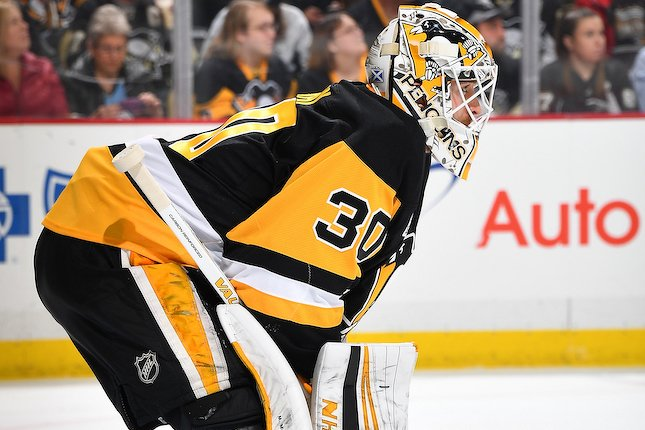Matt Murray a réalisé 23 arrêts, hier. (photo Getty)