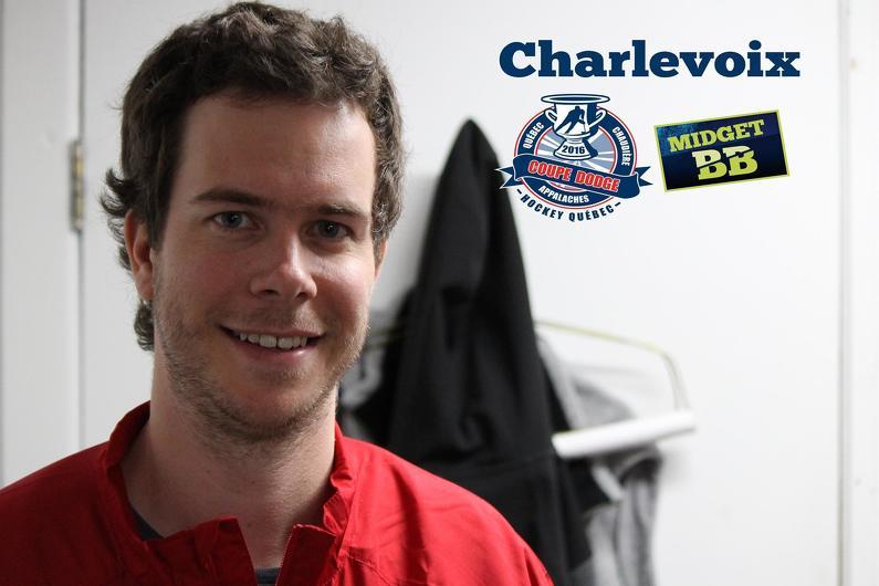 Yannick Searls , bénévole de la Coupe Dodge à Baie-Saint-Paul
