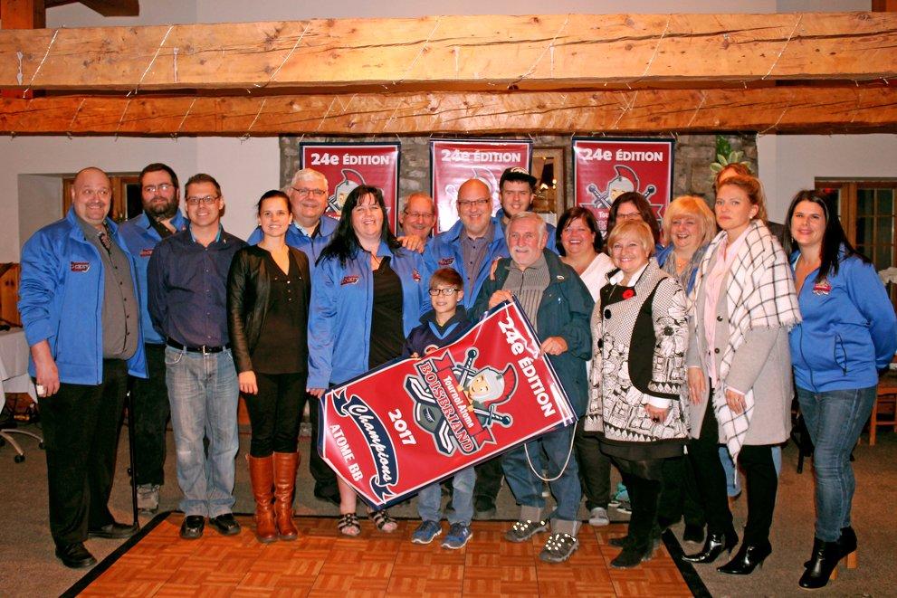 Conférence de presse de la 24 eme édition du Tournoi Provincial Atome de Boisbriand