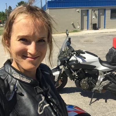 Yamaha Fz-07, lex albrecht, female motorcyclist, motocycliste, motorcycling trip,