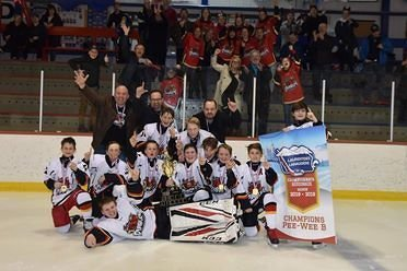 Champions des régionaux