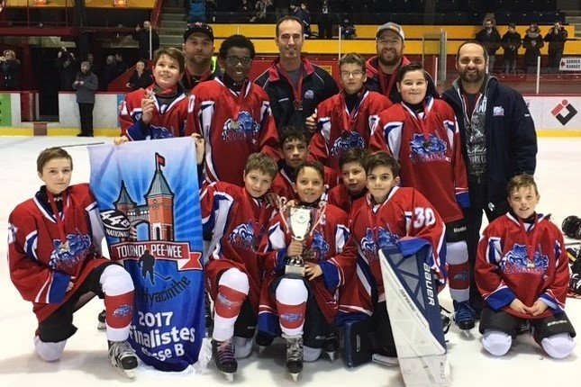 tournoi hockey mineur midget tiger geant