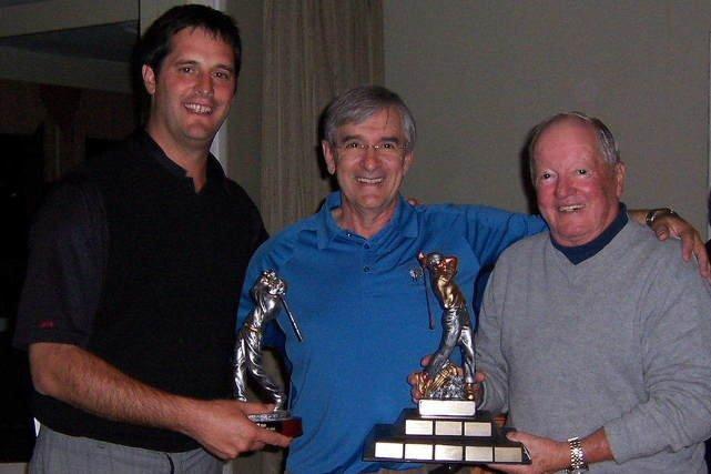 George Arnold (à droite) a été le mentor de Luc Boisvert (à gauche) et de plusieurs membres du Ki-8-Eb.