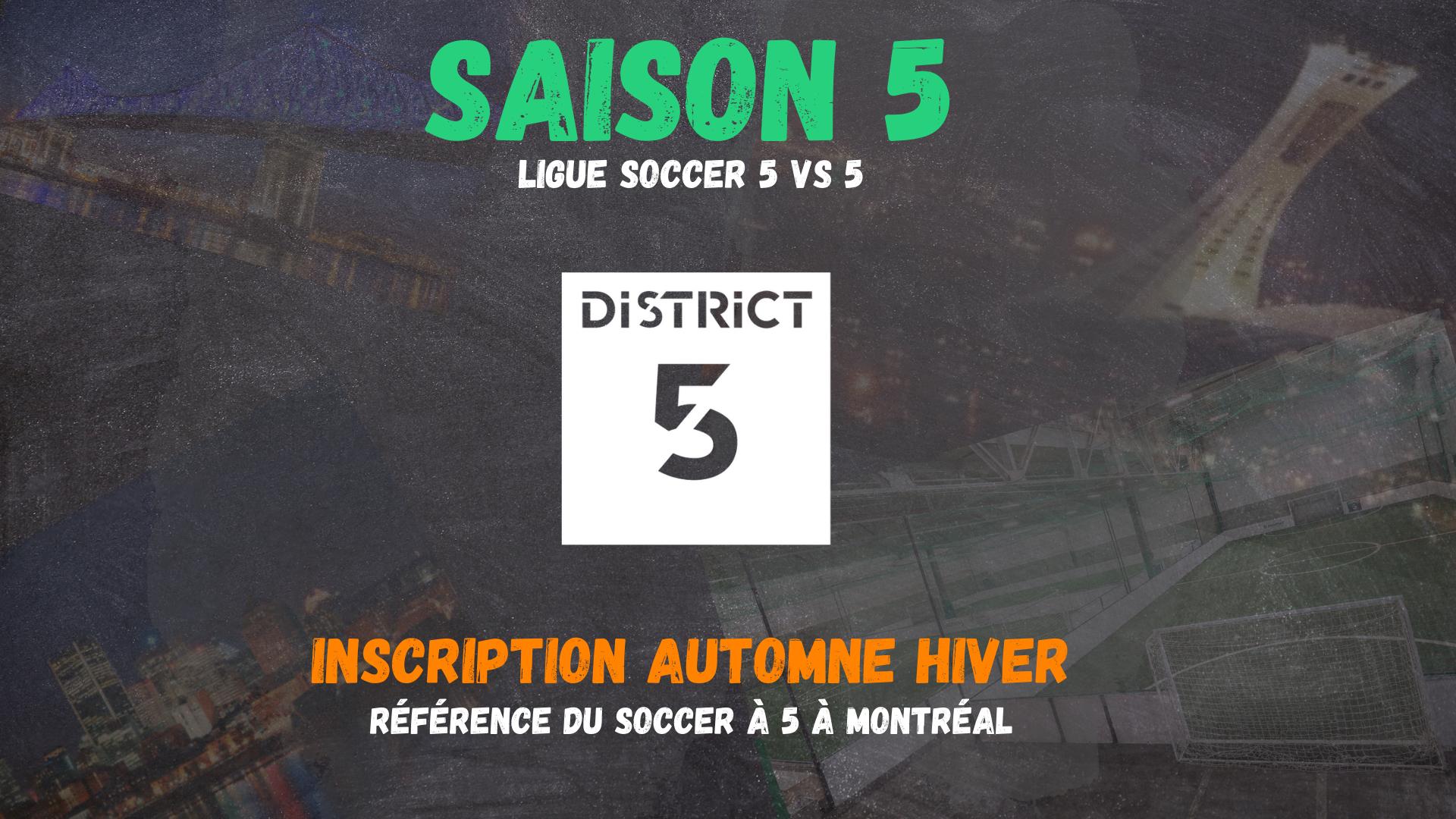 Inscription ligue Automne Hiver 2021- 2022