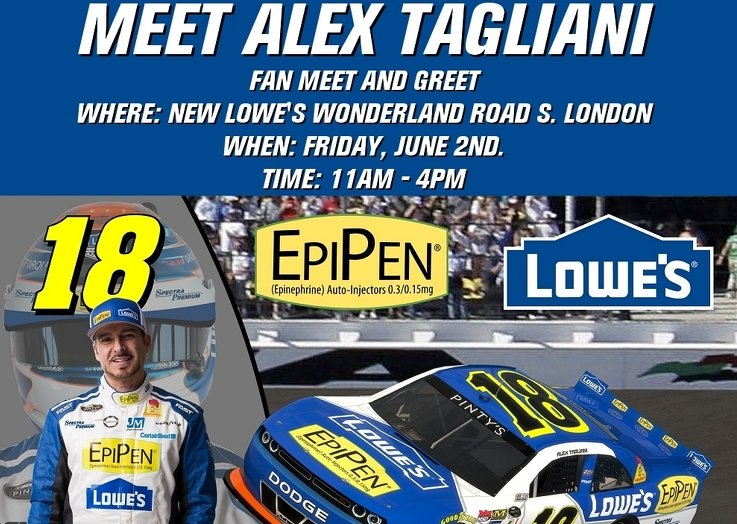 Meet-tag-with-lowes-london-north-2017