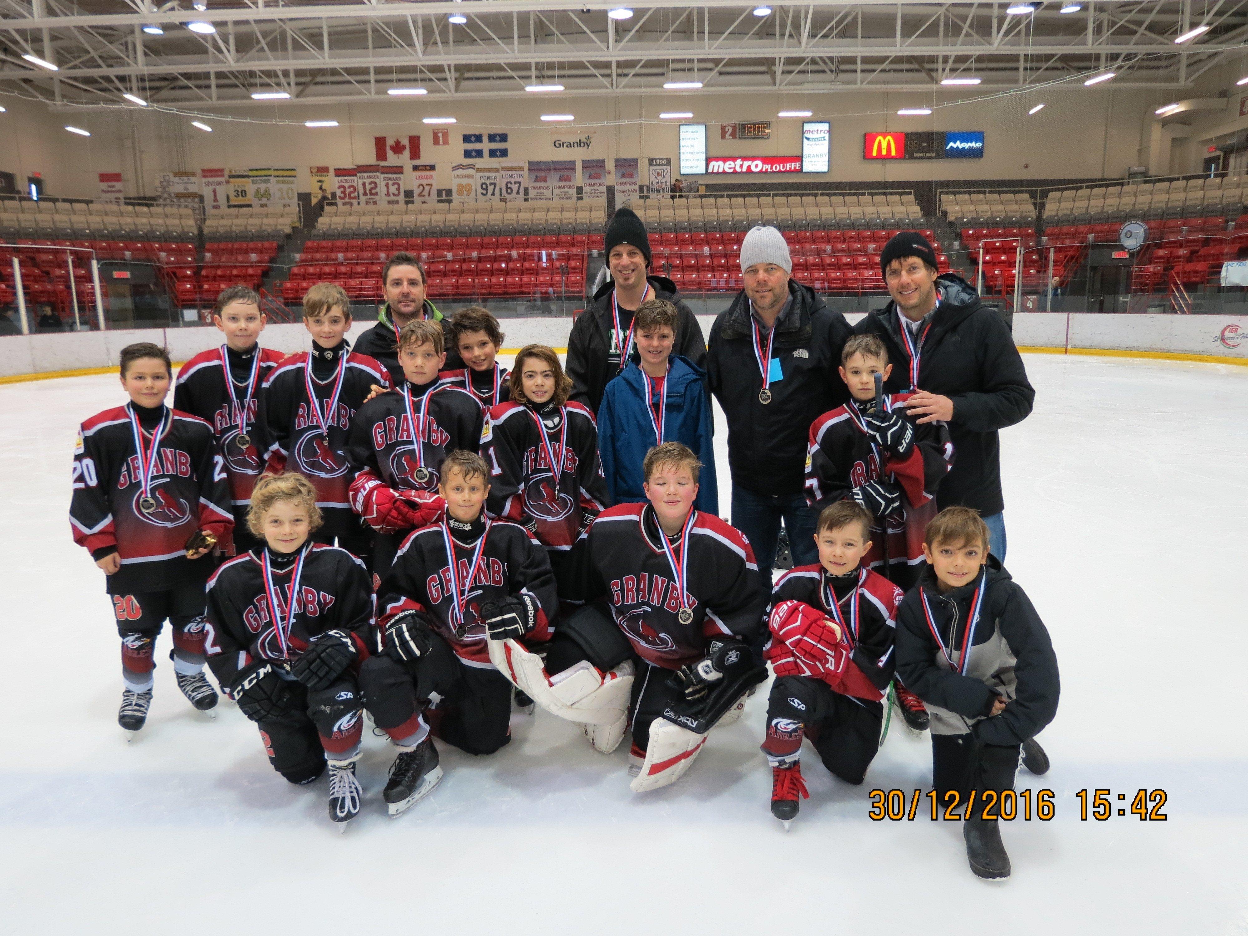 Rencontre hockey atome granby 2016