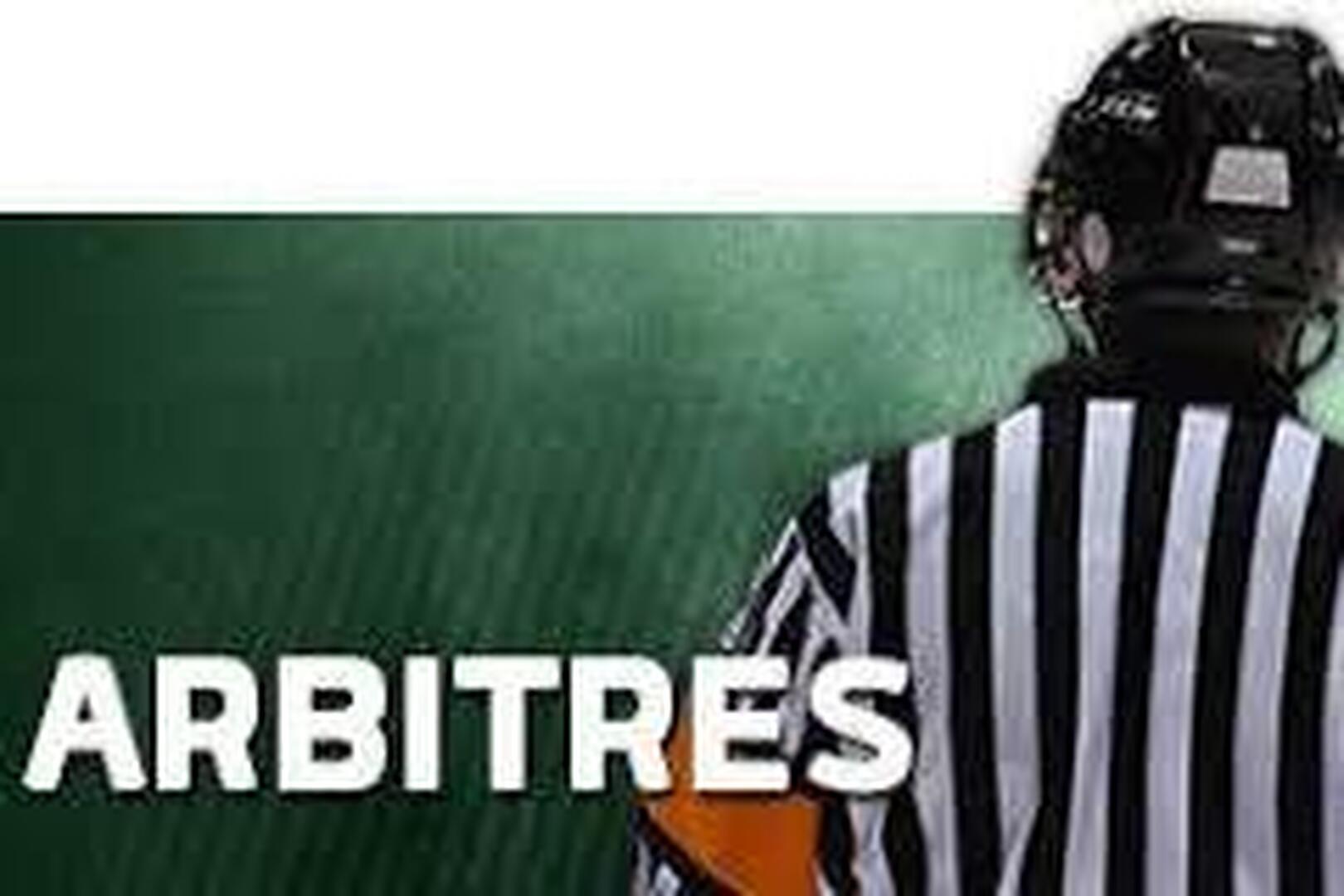 Recrutement arbitres et marqueurs
