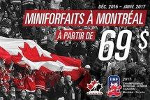 Miniforfaits pour le CMJ 2017 à Montréal  à seulement 69$