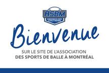 Bienvenue sur le nouveau site Web de l'Association des sports de balle à Montréal!