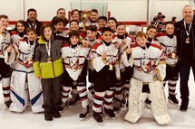 Peewee BB Selects 2 Champion tournoi de Chambly