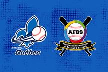 Partenariat entre Baseball Québec et l'Association Francophone de Baseball et Softball (AFBS)
